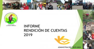 RENDICIÓN DE CUENTAS AÑO 2019